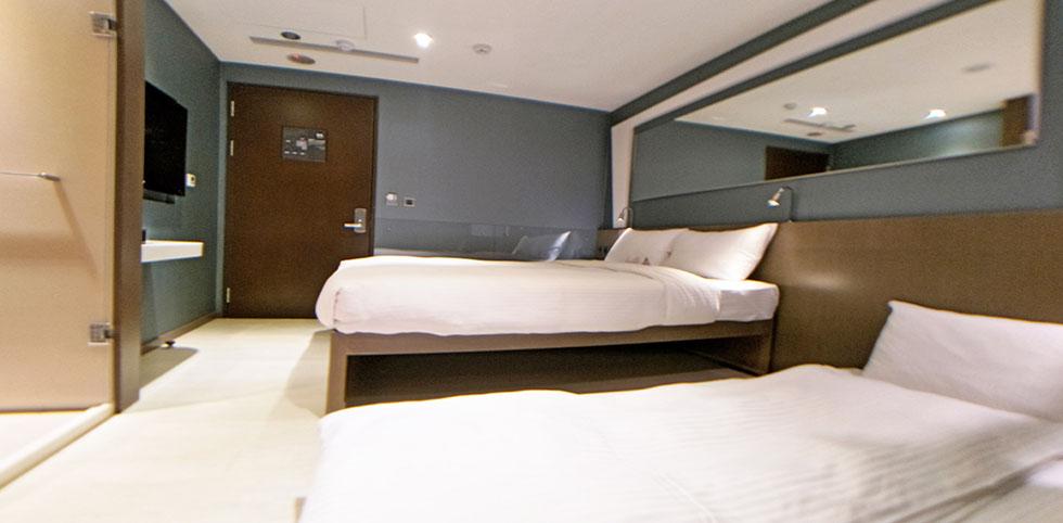 俞美精品飯店 - 豪華三人房 6